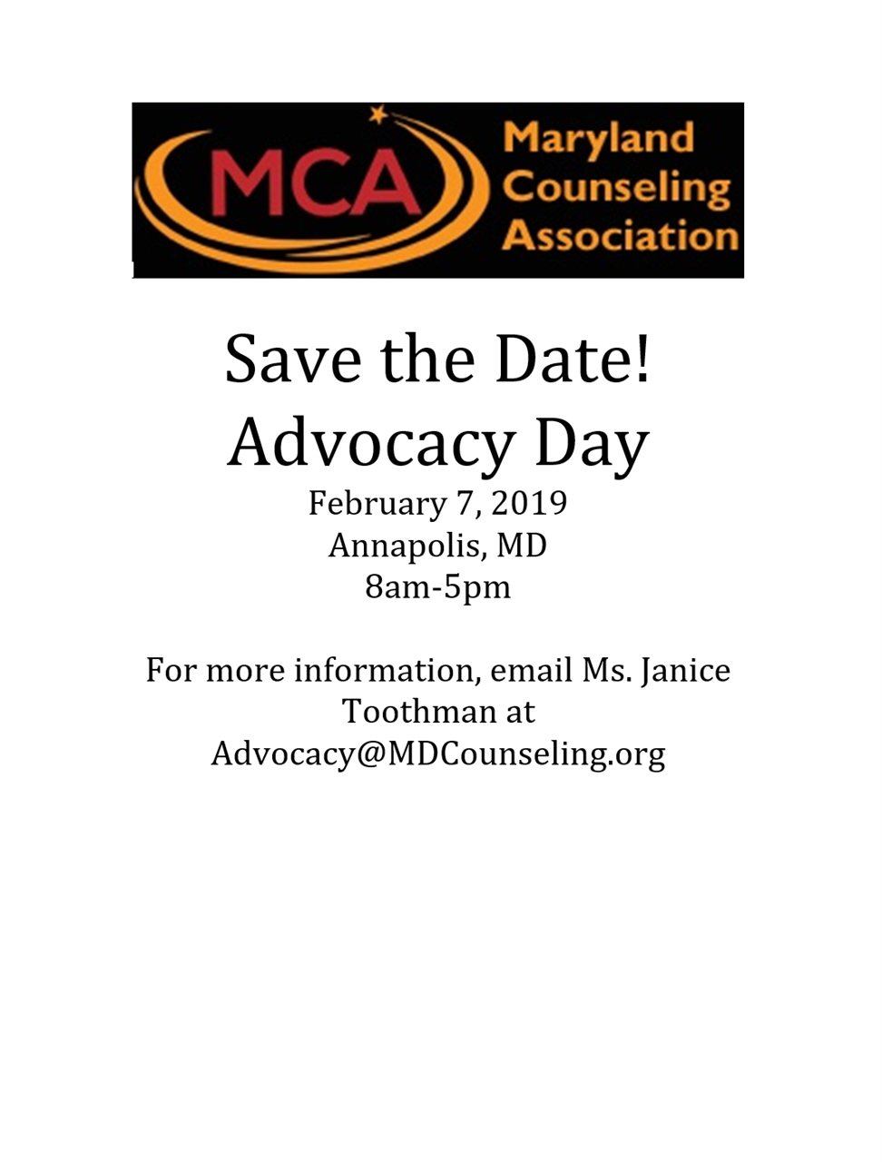 Maryland Counseling Association Home